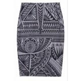 Armour pencil skirt