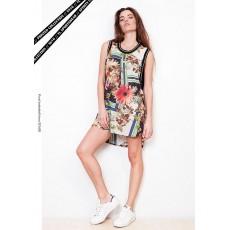 Floral basketball dress