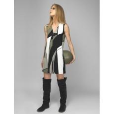 Olive φορεμα - γιλεκο