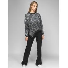Cyber asymmetrical sweatshirt