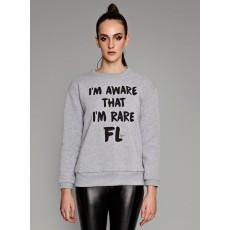 Rare γκρι sweatshirt