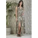 Plexis wrap dress