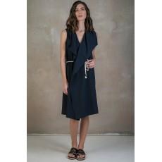 Γιλεκο - Φορεμα Blue-Black