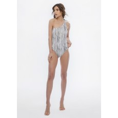 Lithos one-shoulder monokini