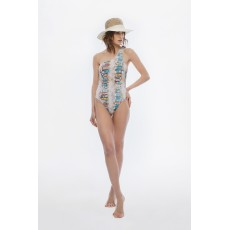 Boats one-shoulder monokini