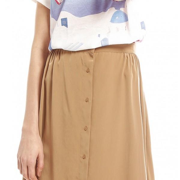 vintage aline skirt