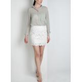 Laser-cut skirt