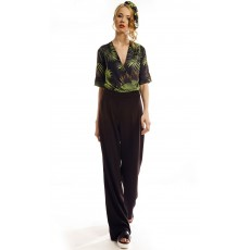 Jungle Leaves Jumpsuit